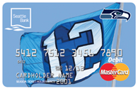 12th Man Flag Debit Card