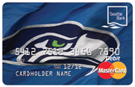 Seahawks Debit Card